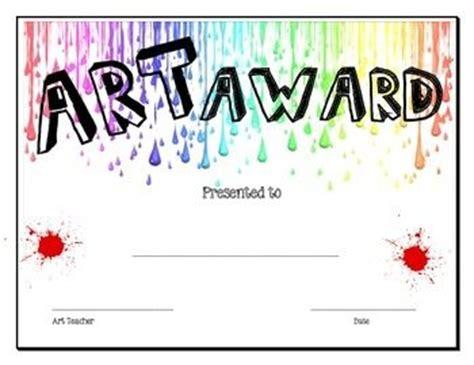 images  art award certificates  pinterest
