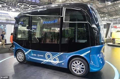 china s baidu rolls out 8 seater self