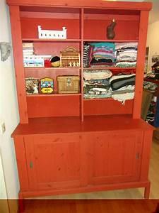 Ikea Schrank Rot : ikea buffetschrank meraker kiefernholz rot lasiert ebay ~ Orissabook.com Haus und Dekorationen