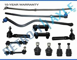 Brand New 13pc Complete Front Suspension Kit For 2000