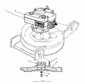 Toro 20780c  Lawnmower  1988  Sn 8000001