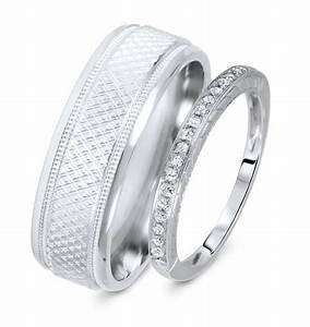 View Full Gallery Of Elegant His Hers Wedding Bands Sets