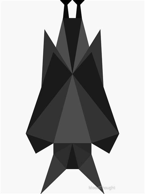 Geometric bat by MoodThought | Geometric, Cute bat, Bat