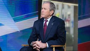 George W. Bush opens up on Trump's war with the media ...