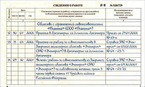 Образец записи в трудовой книжке когда неверно указана дата рождения