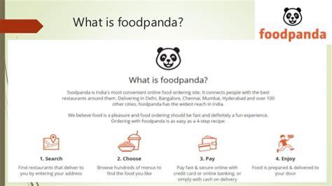 foodpanda marketing and business reserch