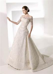 long sleeve lace wedding dress dressed up girl With lace sleeved wedding dresses
