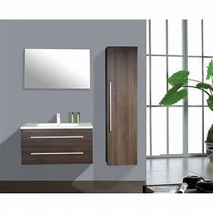 Meuble Salle De Bain 90 : meuble de salle de bain bilbao de 90 cm sa bilbao 90 ~ Teatrodelosmanantiales.com Idées de Décoration