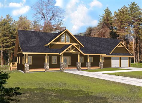 Indian Pass Rustic Home Plan 088d-0339