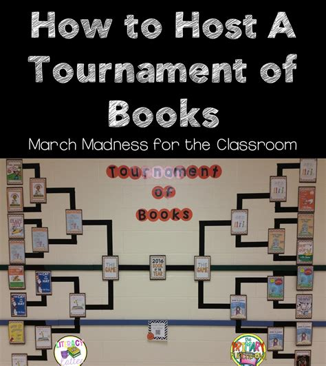 tournament  books march madness   classroom  primary punchbowl