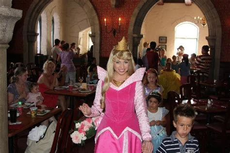 Aurora in parade!   Picture of Akershus Royal Banquet Hall, Orlando   TripAdvisor