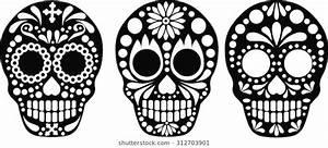 Image Result For Female Sugar Skull Svg