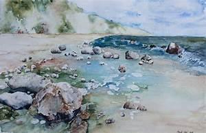 Bilder Bäume Gemalt : gezeichnet von meer und wind c ein aquarell gemalt von hanka koebsch ~ Orissabook.com Haus und Dekorationen