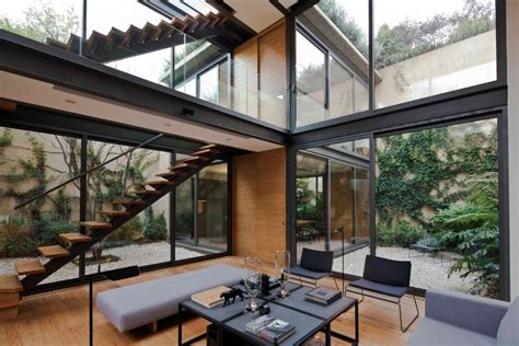 homes with inner courtyards a house with 4 courtyards includes floor plans