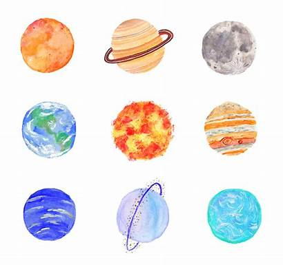 Planet Planets Drawing Solar System Drawings Doodles