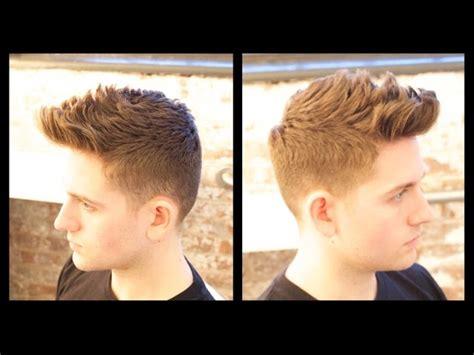 mens haircut tutorial male model haircut thesalonguy