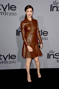 Emmy Rossum Leather Dress Emmy Rossum Clothes Lookbook