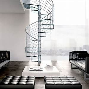 China, New, Design, Spiral, Staircase, Stainless, Steel, Spiral, Stairs, With, Glass, Tread