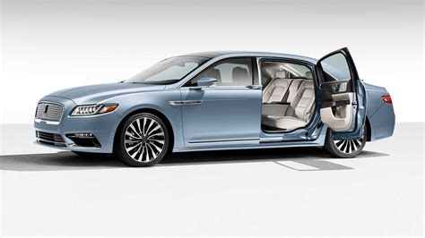 lincoln continental brings  iconic suicide doors