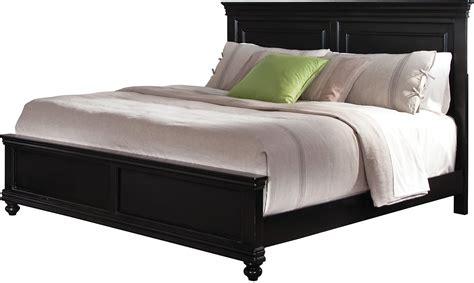 Bridgeport Queen Bed  Black  The Brick