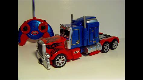 Transforming Rc Optimus Prime Remote Control Toy Robot