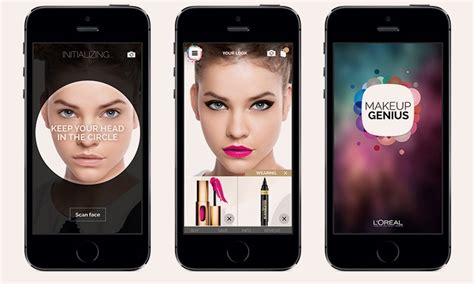 Makeup Genius App From L'oreal