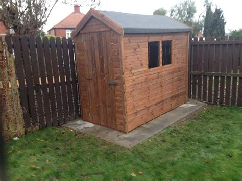 8 By 4 Shed by Wooden Garden Shed 8 X 4 Garden Ideas