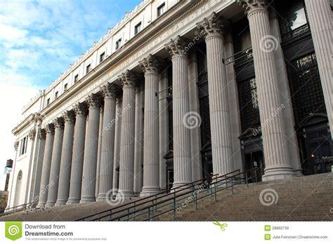 bureau de poste 2 bureau de poste de manhattan images libres de droits