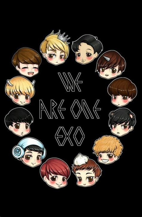 Exo Anime Wallpaper - exo wallpaper for samsung galaxy s4 on we it
