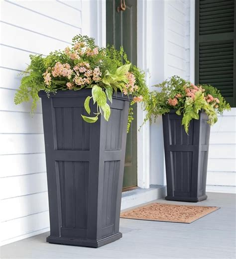 modern outdoor plants easy creative outdoor planters four generations one roof