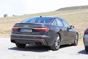 Audi S 6 : 2019 audi s6 sedan spied with quad exhaust autoevolution ~ Kayakingforconservation.com Haus und Dekorationen