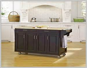 granite kitchen island on wheels home design ideas - Kitchen Island With Wheels
