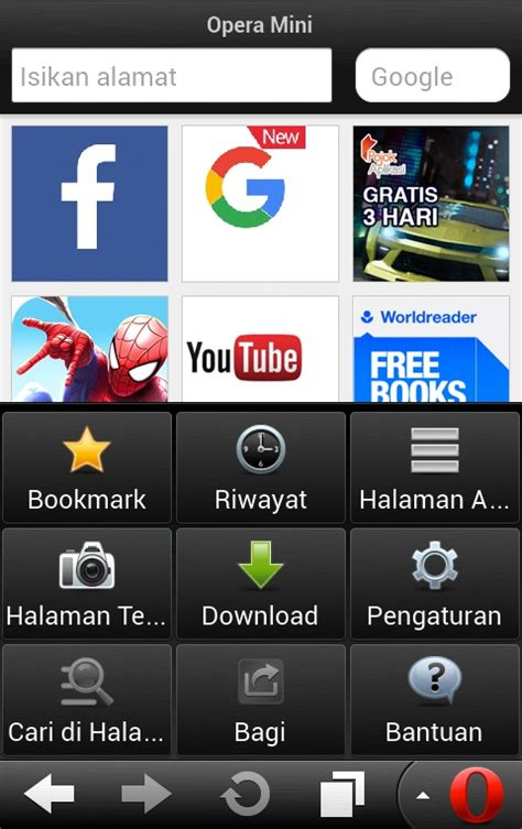 Below you can download a list of top and latest apps related to opera mini versi. DOWNLOAD OPERA MINI LAMA BROWSER PERTAMA