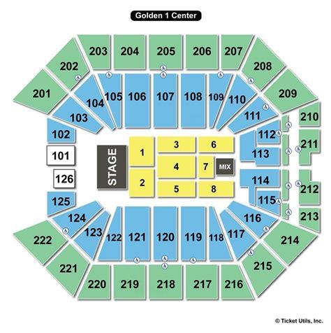golden  center sacramento ca seating chart view