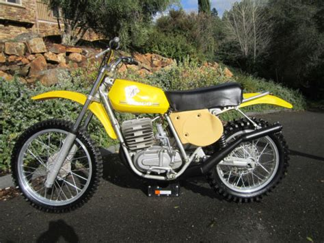 motocross bike makes near new low hours maico 440 spider ahrma vintage
