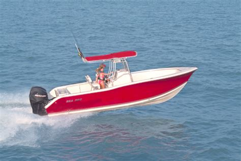 Quality Of Sea Pro Boats by Research Sea Pro Boats 270 Cc Center Console Boat On