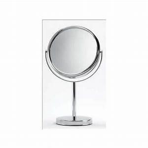 Miroir Sur Pied : miroir sur pied grossissant 7 fois double face fournival altesse miroirs ~ Teatrodelosmanantiales.com Idées de Décoration