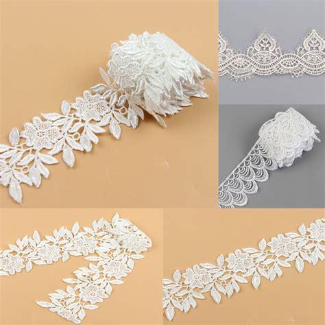 1 yard sewing diy bridal dress wedding lace trim ribbon