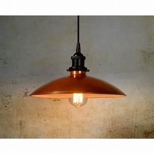 Suspension Luminaire Cuivre : suspension cuivre bistro d32cm luminaire discount ~ Teatrodelosmanantiales.com Idées de Décoration