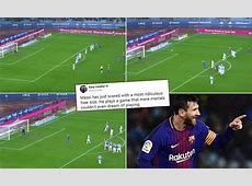 Twitter reacts to recordbreaking Lionel Messi freekick