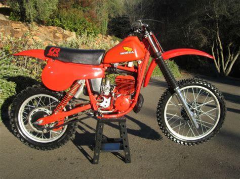 restored vintage motocross bikes for sale 1980 suzuki rm250 show restored dirt bike motorcycle ahrma