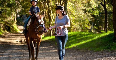 riding horse ride pony sydney valley glenworth rides outdoor trail
