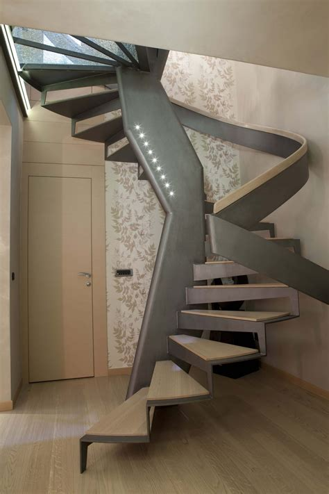 Steel Spiral Staircase Kits by 33 Flamboyant Modern Staircase Designs