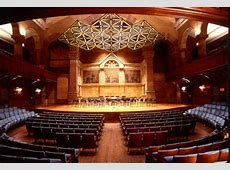 Richardson Auditorium in Alexander Hall Princeton, NJ