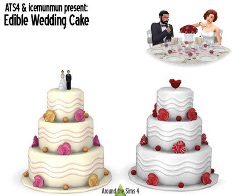 edible wedding cake    sims  sims  updates