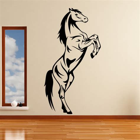 Horse Rearing Animals Wall Art Stickers Decal Transfers Ebay