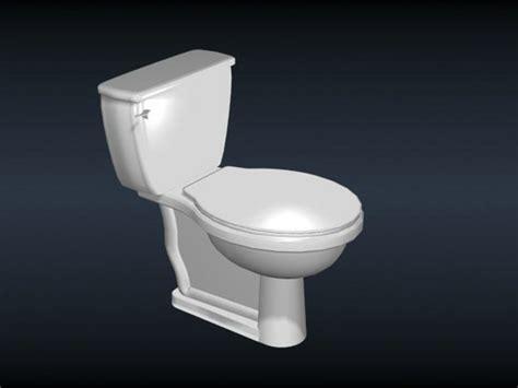 ceramic toilet  bowl  model dsmaxds files