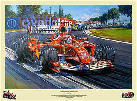 automobile art watts nicholas michael schumacher champion supreme