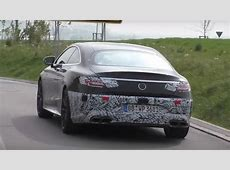MercedesAMG S63 Coupe and Cabriolet Facelift Spied
