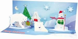 Pop Up Karte Weihnachten : pop up 3d weihnachten panorama karte popshot weihnachts eisb ren 23x10 cm 507465 ~ Buech-reservation.com Haus und Dekorationen